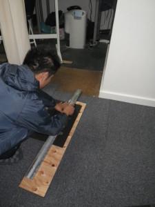 タイルカーペット 施工 リフォーム
